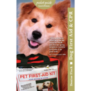 Dog First Aid and CPR Pocket Guide