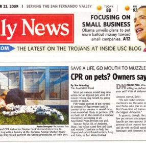 LA Daily News - October 22, 2009