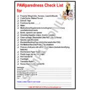 Pet PAWparedness Checklist