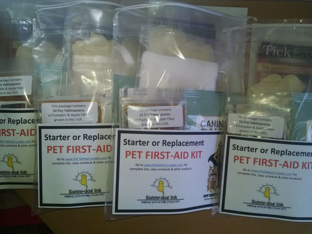Starter/Replacement Pet First-Aid Pack for Cats