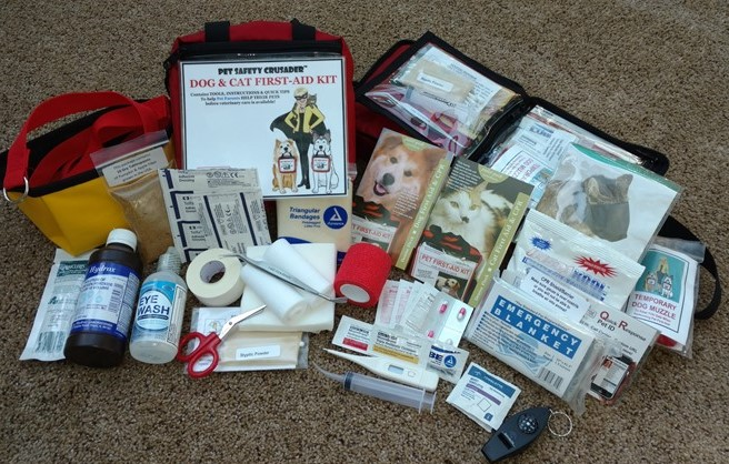 The Pet Safety Crusader's Dog & Cat First-Aid Kit